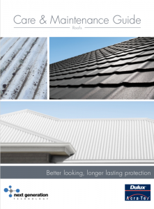 Image Care and Maintenance Guide DGA Roofing