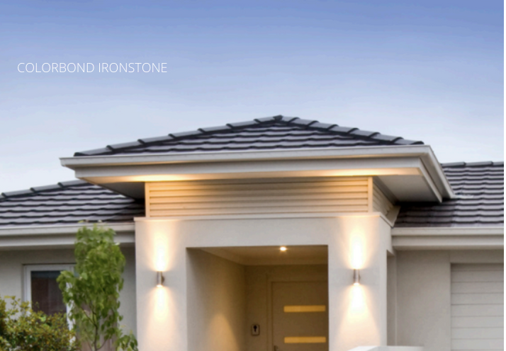 DGA Roofing Colorbond Ironstone Roofing