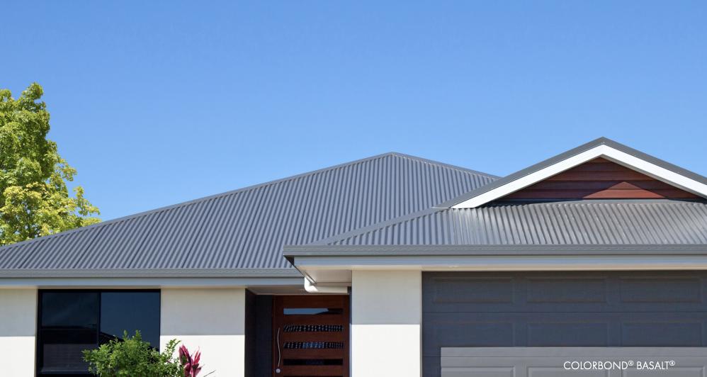 DGA Roofing Colorbond Basalt