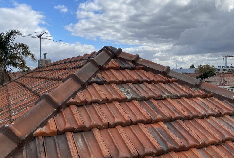 port melburne 2 terracotta roof repair