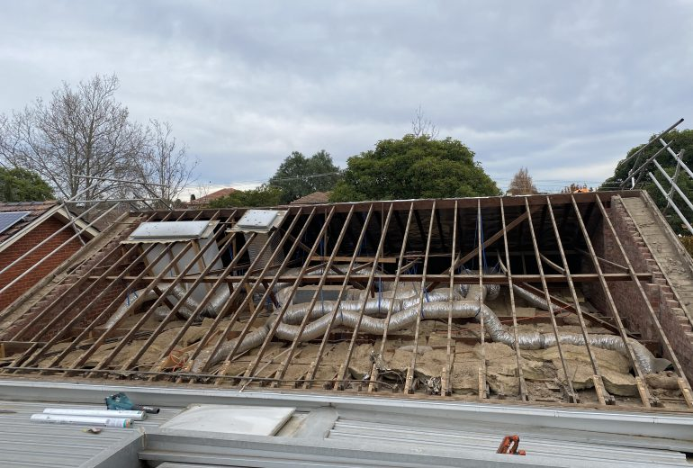 malvern east 3 residential re-roofing