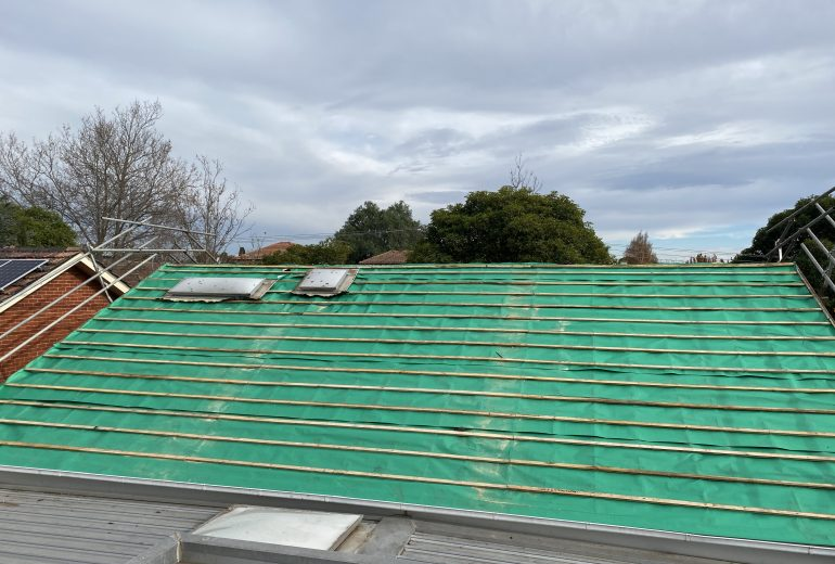 malvern east 2 residential re-roofing