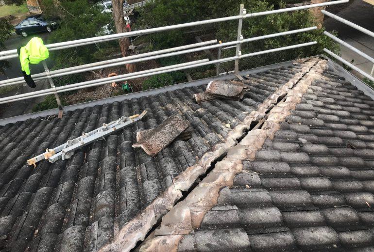 montmorency 2 terracotta roof repair